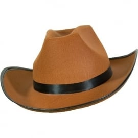 Cowboyhoed Dallas vilt bruin