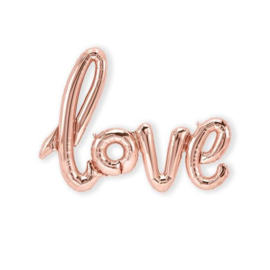 Foliescript Love rose gold
