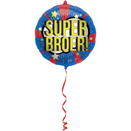 Folieballon Super broer