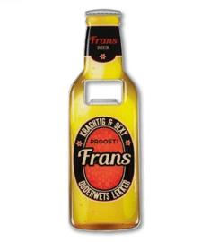 Magneet fles opener - Frans