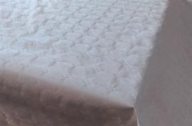 Tafelkleed damast zilver 7m x 118cm