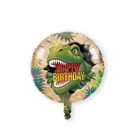 Folieballon dino blast (46cm)