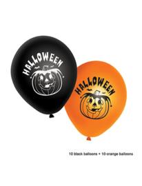 Ballonnen 20st. Halloween