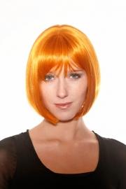 Pruik Victoria naturel oranje op=op