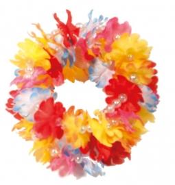Hawaï armband bloemetjes
