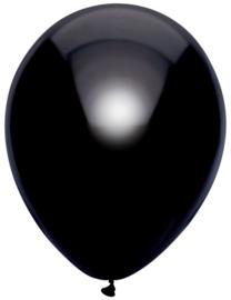 Ballonnen 10st. Zwart metallic