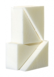 Grimas latex sponsje (4 stuks)
