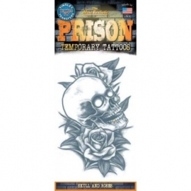 Tattoo Prison Skull and Roses