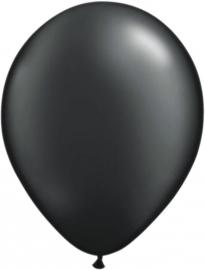 Ballonnen 100st. Zwart metallic