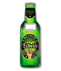 Magneet fles opener - Edwin