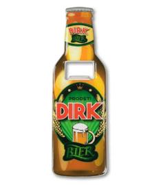 Magneet fles opener - Dirk