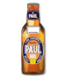 Magneet fles opener - Paul
