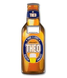 Magneet fles opener - Theo