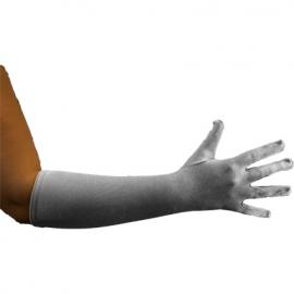 Gala handschoenen zilver