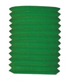 Lampion 16cm groen