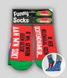 Funny socks - Geen ochtendhumeur