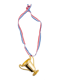 Halsketting met trofee