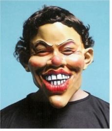 Masker rubber big smile