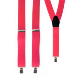 Bretels fluor pink
