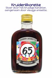 Drankflesje 65 Genieten