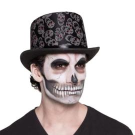 Hoed skull print