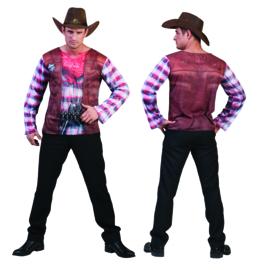 Cowboy t-shirt 3D mt. 52