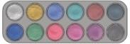 Grimas waterpalet 12 kleuren pearl