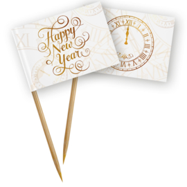 Vlagprikkers Happy New Year 50st.