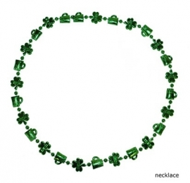 Happy St. Patrick's Day ketting 80cm