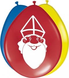 Ballonnen 8st. Sinterklaas