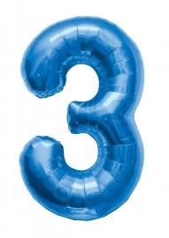 Folieballon 86cm Blue 3