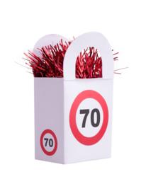 Ballon gewicht traffic 70 jaar