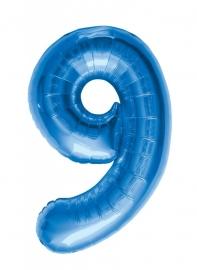 Folieballon 86cm Blue 9