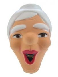 Masker pl. Sarah lachend