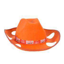 Bierhoed oranje