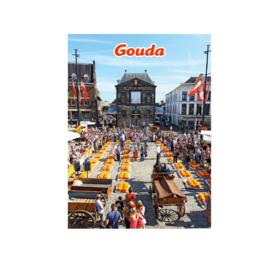 Fotomagneet Gouda kaasmarkt