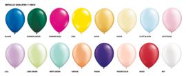 Metallic heliumballonnen