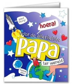 Wenskaart Cartoon Papa