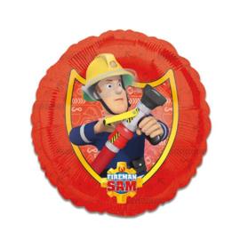 Folieballon brandweerman Sam