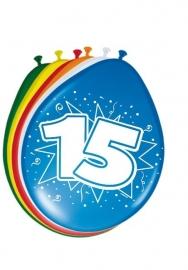 Ballonnen 8st. cijfer 15