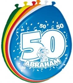 Ballonnen 8st. Abraham