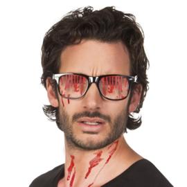 Bril bloederige glazen