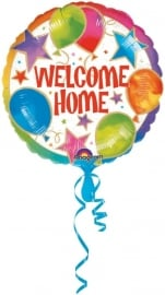 Folieballon welcome home celebration
