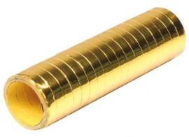Serpentines metallic goud 4m