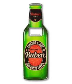 Magneet fles opener - Ruben