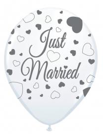 Ballonnen 8st. Just Married
