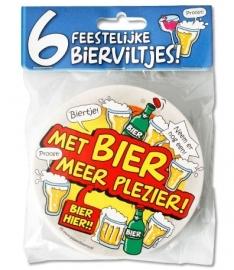 Bierviltjes Bier