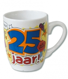 Mok Cartoon 25 jaar
