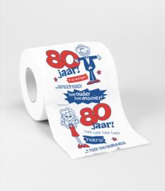 WC papier 80 jaar