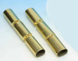 Christmas crackers 11 inch goud p/s
